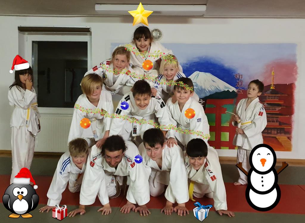 Die Judoka des Chemnitzer WSV wünschen eine frohe Weihnacht und einen guten Start ins neue Jahr
